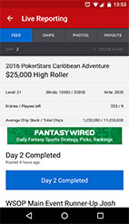 PokerNews Mobile App available on Android & App Store